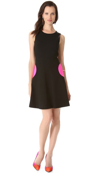 Lisa Perry Flared Circle Dress