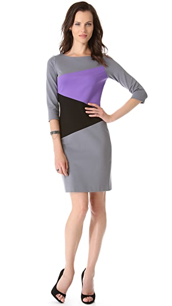 Lisa Perry Diagonal Dress