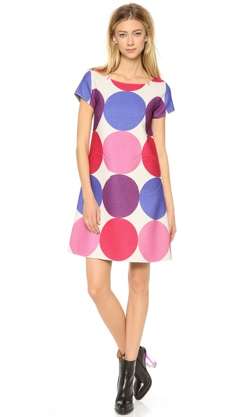 Lisa Perry Reversible Twist Dress