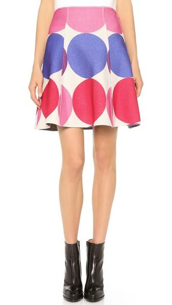 Lisa Perry Reversible Twist Skirt