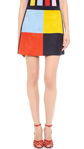 Lisa Perry Patchwork Skirt