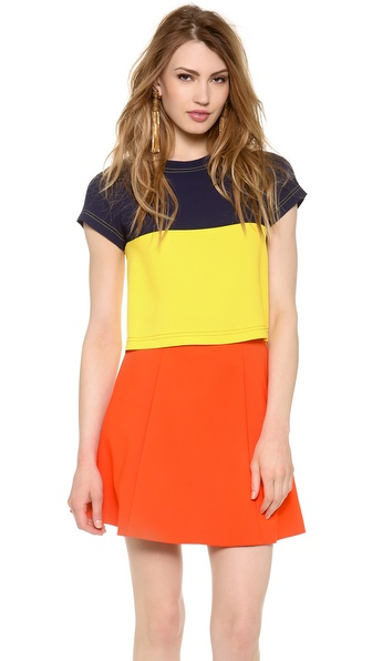Lisa Perry Two Tone Tee