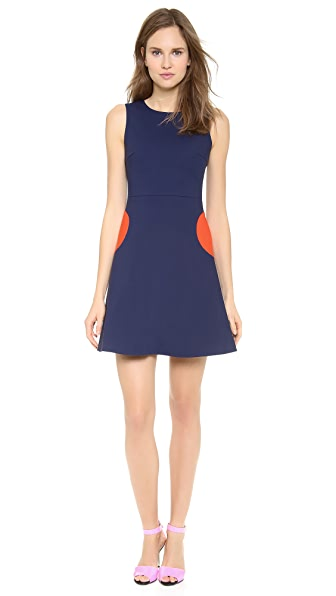 Lisa Perry Circle Pocket Dress