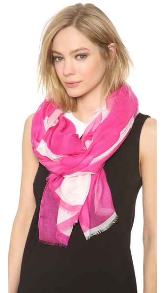 Lisa Perry Printed Love Scarf