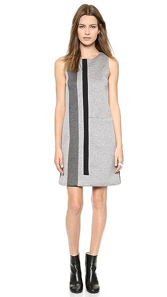 Lisa Perry Geometric Stripe Dress
