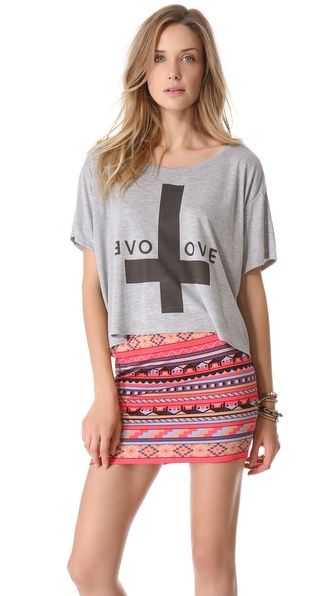 The Laundry Room Reflect Your Big Love Boxy Tee