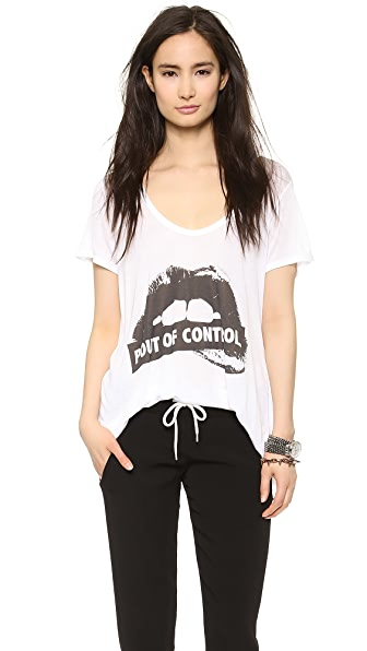 The Laundry Room Pout of Control Double Scoop Tee
