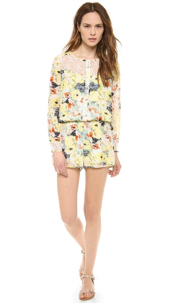 Love Sadie Long Sleeve Romper