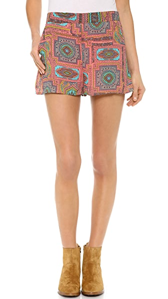 Love Sadie Printed Shorts