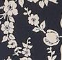 Navy Cream Floral