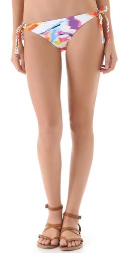 L*Space Vapor Michela Reversible Rope Bikini Bottoms