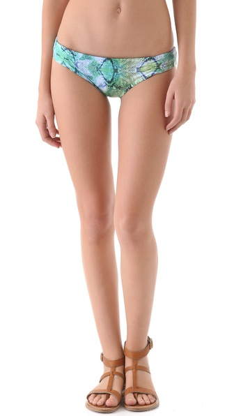 L*Space Viridian Skin Monique Reversible Bikini Bottoms