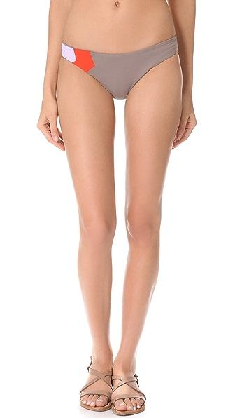 L*Space Colorblock Reversible Bikini Bottoms