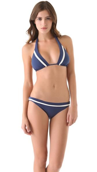 L*Space Colorblock Malibu Bikini Top