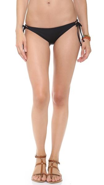 L*Space Sensual Solids Dandy Bikini Bottoms