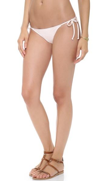 L*Space Sweet & Chic Solids Ooh La La Bikini Bottoms