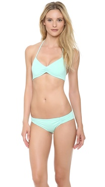 L*Space Sweet & Chic Solids Strap Bikini Top