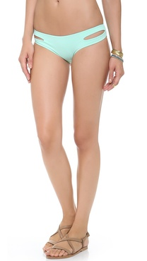L*Space Sweet & Chic Solids Estella Bikini Bottoms