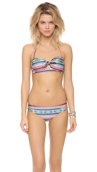L*Space Cozumel Peek A Boo Bikini Top