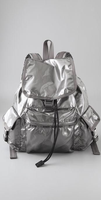 LeSportsac Graphite Shimmer Voyager Backpack