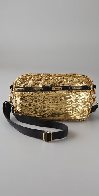 LeSportsac All Gold Small Cross Body Bag