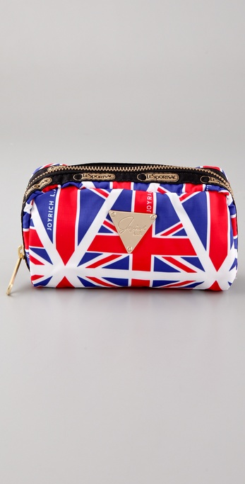 LeSportsac JOYRICH Union Jack Cosmetic Bag