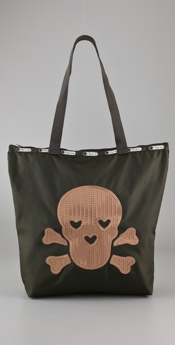 LeSportsac Le Skull Medium Shopper