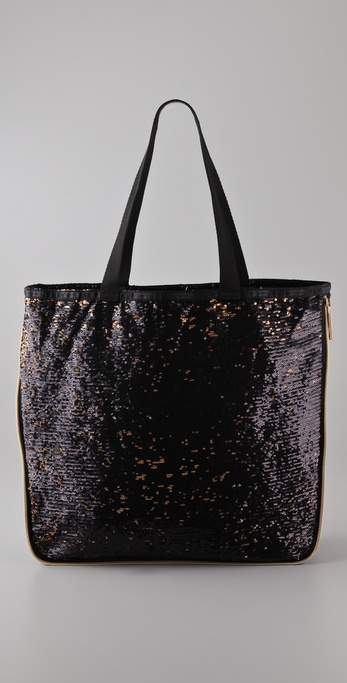 LeSportsac Platinum Sherry Zipper Tote