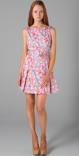 Lucy in Disguise Promenade Belted Dress