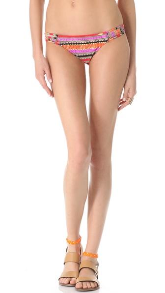 Luli Fama Pura Fiesta Multi Strap Bikini Bottoms