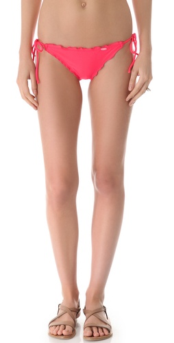 Shop Luli Fama Cosita Buena Wavy Tie Bikini Bottoms and Luli Fama online - Apparel, Womens, Swim, Swim,  online Store