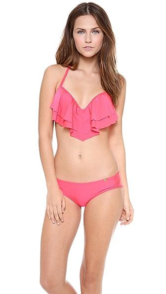 Luli Fama Bon Bon Cha Cha Bikini Top