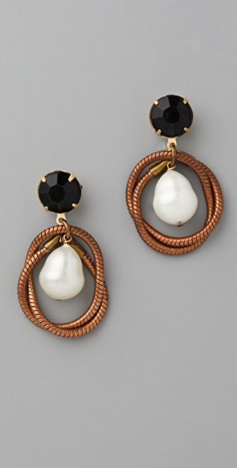 Lulu Frost Knot Teardrop Earrings