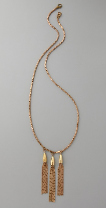 Lulu Frost Triple Cascade Necklace