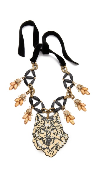 Lulu Frost Ula Collage Necklace