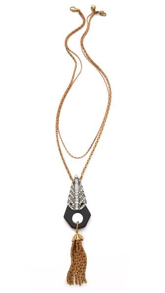 Lulu Frost Antigone Tassel Necklace
