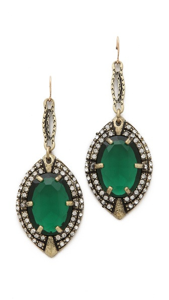 Lulu Frost Absinthe Earrings