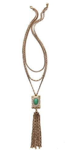 Lulu Frost Immortality Tassel Necklace