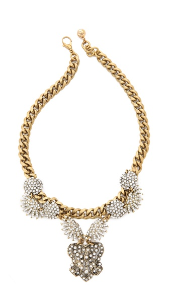 Lulu Frost Burst Statement Necklace