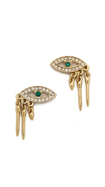 Lulu Frost Panoptes Stud Earrings