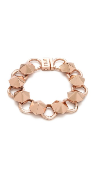 Luv Aj Pyramid Stud Tennis Bracelet