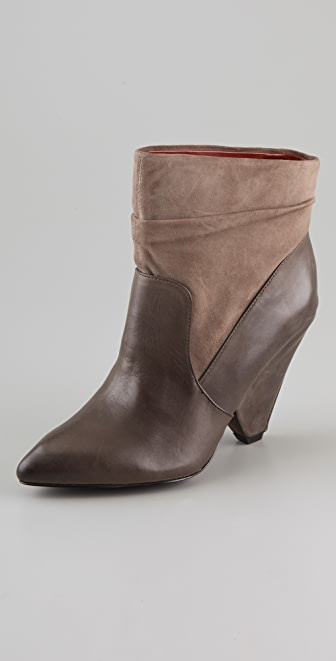 Luxury Rebel Shoes Yuma Wedge Booties