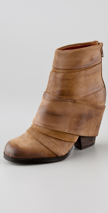 Luxury Rebel Shoes Amy Banded Booties