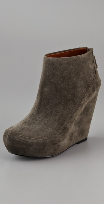 Luxury Rebel Shoes Kai Suede Platform Booties
