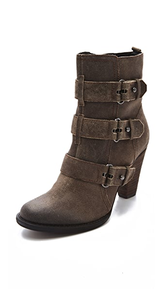 Luxury Rebel Shoes Regina Buckle Booties