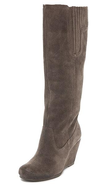 Luxury Rebel Shoes Effie Wedge Boots
