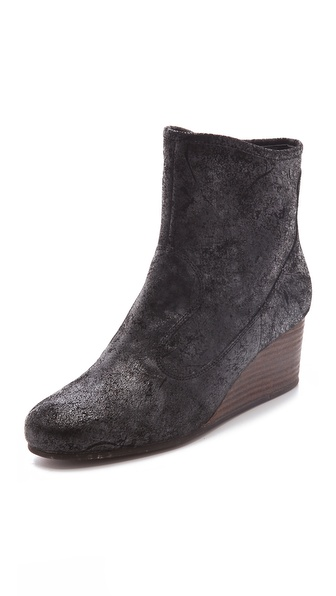Luxury Rebel Shoes Tracey Wedge Booties