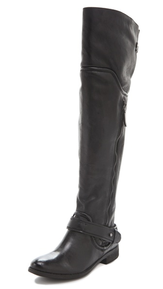 Luxury Rebel Shoes Lynn Over the Knee Boots