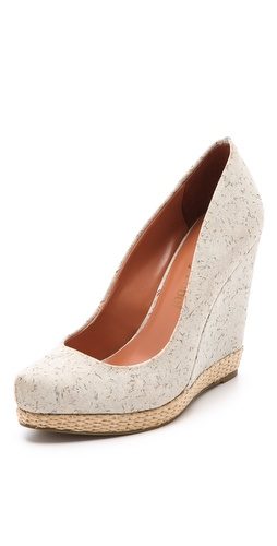Luxury Rebel Shoes Syri Cork Wedges at Shopbop.com