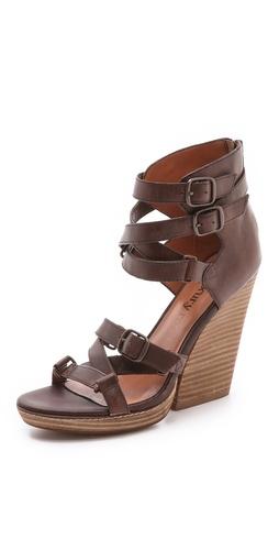 Luxury Rebel Shoes Olsen Multi Buckle Sandals